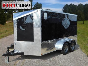 Enclosed Motorcycle Trailers For Sale Harley Trailers In Al